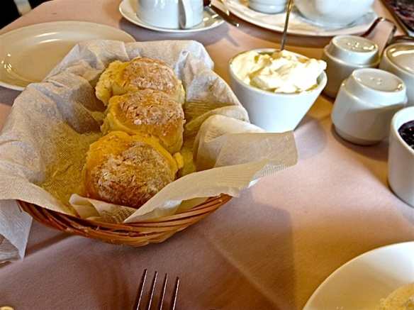 Scones at Megalong Valley tea rooms