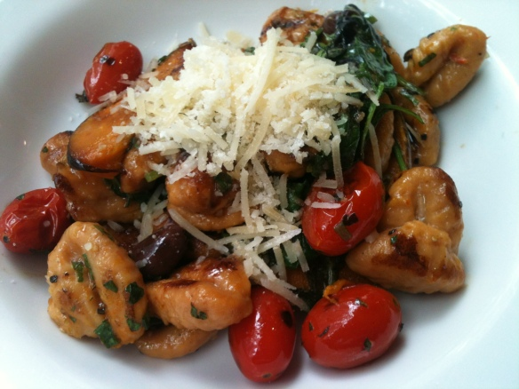 Delicious gnocchi at Tony and Silvana's