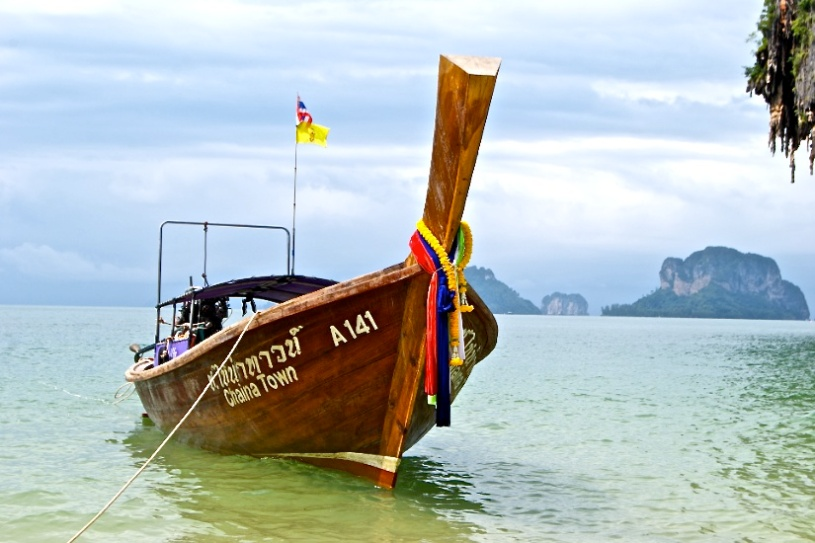 Long-tail boat, Krabi