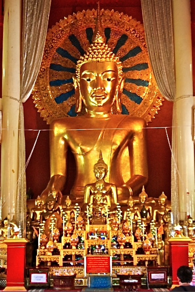 Buddha, Chiang Mai old city