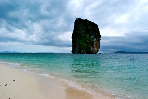 Off the coast of Krabi, Thailand